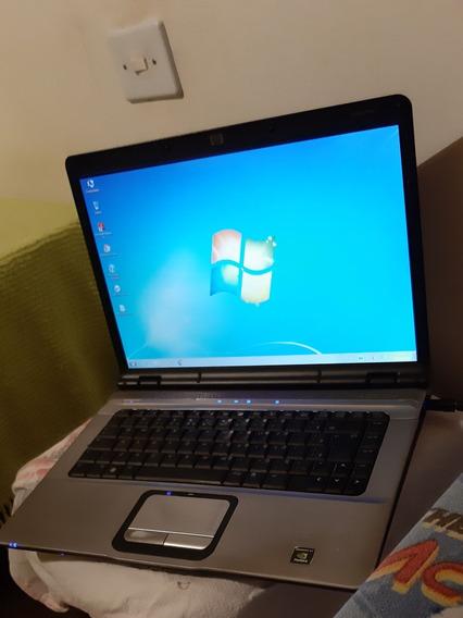 Notebook Hp/dv6000/2gb/hd80gb Detalhe Bateria Ler Descrição
