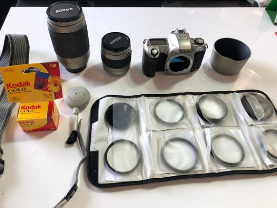 Nikon Analógica U N65 + Lente 28-80 + Filtros