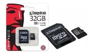 Cartão De Memoria 32gb Classe 10 Kingston Original Lacrado