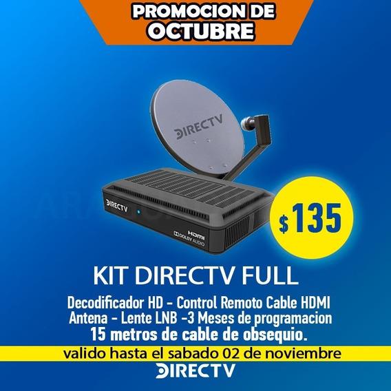 Decodificador Directv Kit Hd Tiendaf Promocion Araguadirectv