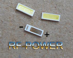 Kit 100 Peças Led 4020 Smd 6v 1w Tv Philco Ph39e53sg Ph39e53