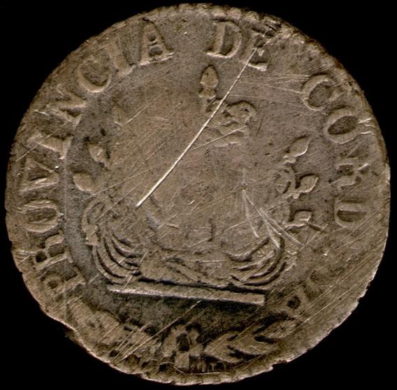 Spg Argentina Cordoba 2 Reales 1849