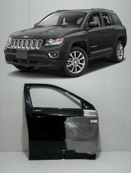 Porta Dianteira Jeep Compass 16 17 18 19 Original