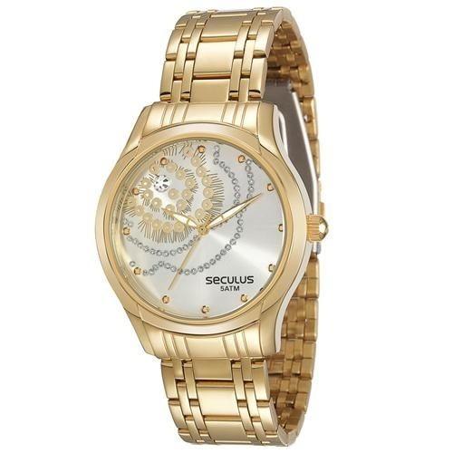 Relógio Feminino Analógico Seculus 28524lpsvds1