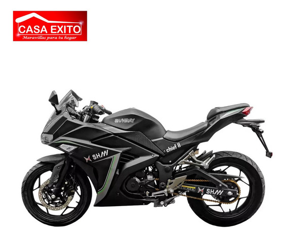 Moto Shineray Chief Ii 250cc Año 2020 Color Negro/ Blanco