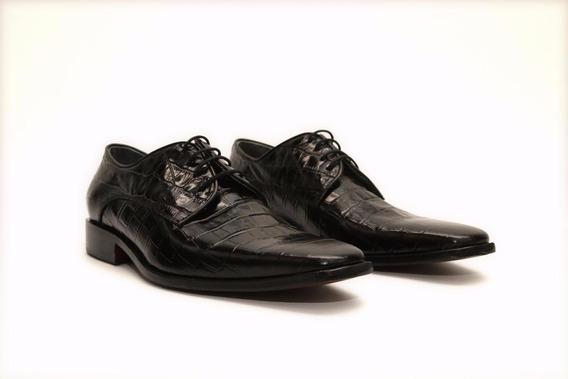 Oferta Zapato De Vestir Premium Cuero Grabado Liberty 843