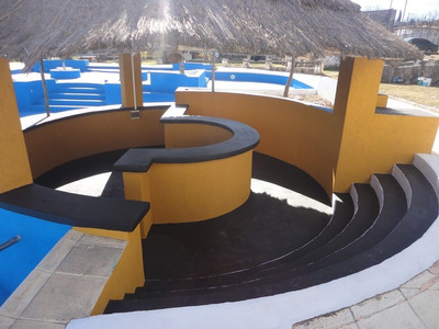 Alquiler Anual Gran Predio De Camping Con Cancha Y Piletas En La Falda