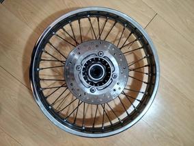 Roda Traseira Nxr Bros 150 / 160 Com Disco + Eixo Traseiro