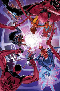 Spider-man Spider-verse Vol. 2 Marvel Grandes Eventos Comic