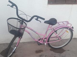 Bicicleta De Paseo Con Canasto