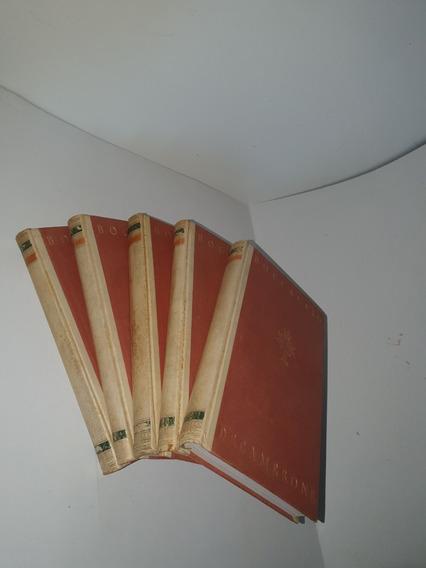 Der Decamerone - Giovane Boccaccio Completo Com 5 Tomos