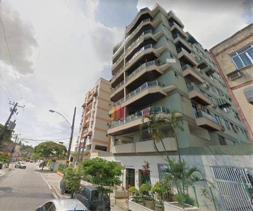 Cobertura Com 3 Dormitórios, 197 M² - Venda Por R$ 468.000,00 Ou Aluguel Por R$ 2.250,00/mês - Praça Seca - Rio De Janeiro/rj - Co0045