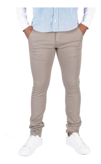 Pantalón Casual De Vestir Skinny Arena Para Hombre Descuento