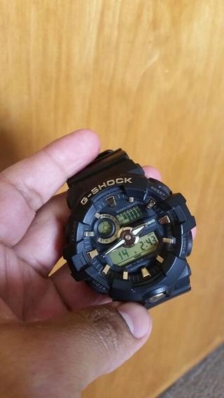 Reloj Casio G Shock Usado 710b1a9 Negro/dorado Original