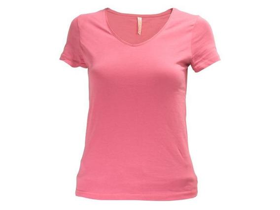 Camiseta Dama Urban Sw Entallada Cuello V - Disershop