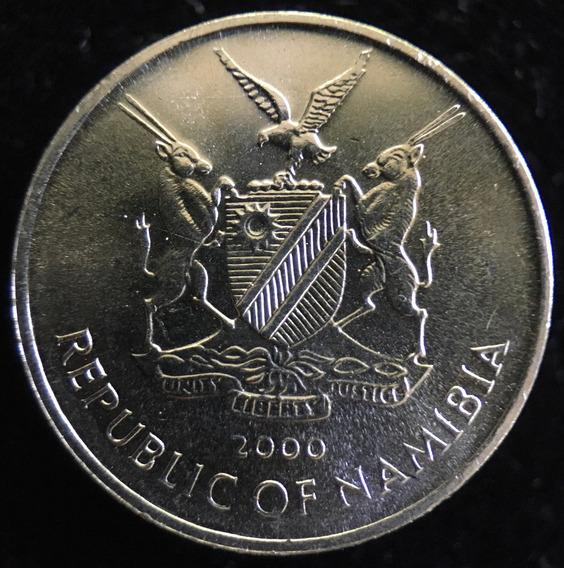 Namibia, 5 Cents, 2000. Fao. Pez. Sin Circular