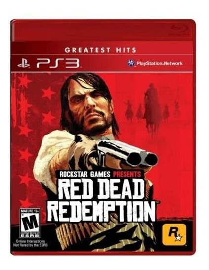 Red Dead Redemption - Ps3 - Novo -
