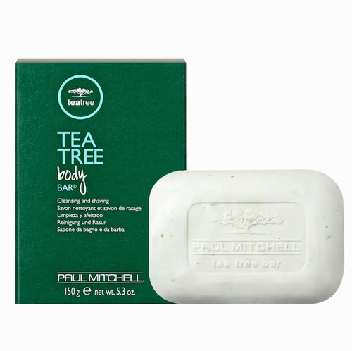 Imagem 1 de 5 de Paul Mitchell Tea Tree Sabonete Body Bar 150g