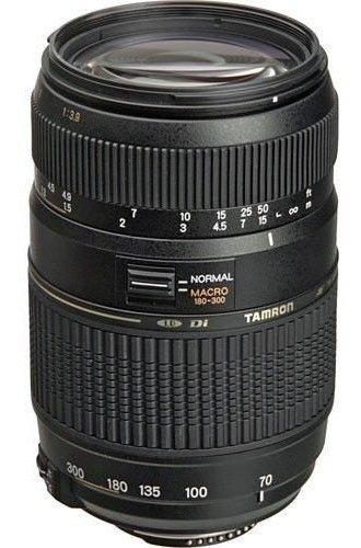 Lente Tamron Af 70-300mm F/4-5.6 Canon
