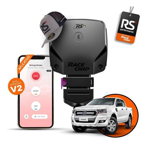 Chip De Potencia Ford Ranger T7 3.2 Racechip Rs V2 + App
