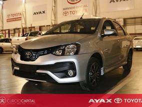 Toyota Etios Xls Sedan 2018 Gris Plata 0km