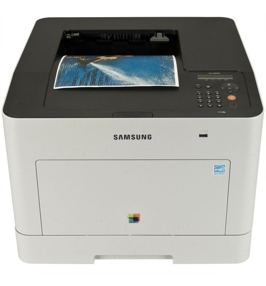 Impressora Laser Colorida Clp 680nd Usada - Transfer