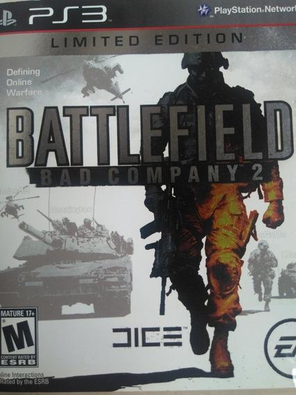 Battlefield Bad Company Ps3 Midia Fisica , A Pronta Entrega