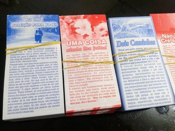 2000 Folhetos P/ Evangelismo Temas Variados Ótimo Preço