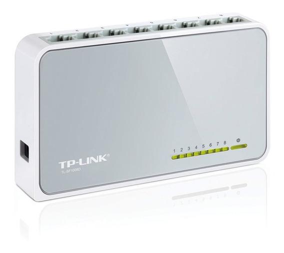 Switch Tp-link Tl-sf1008d 8 Puertos 10/100mbps