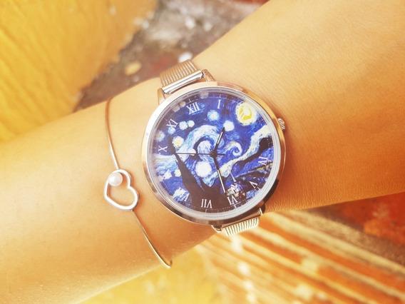 Reloj Noche Estrellada Van Gogh
