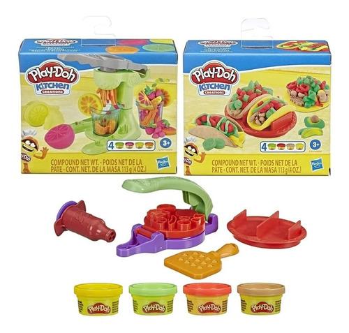 Play Doh Comidas Favoritas Masa Original Hasbro