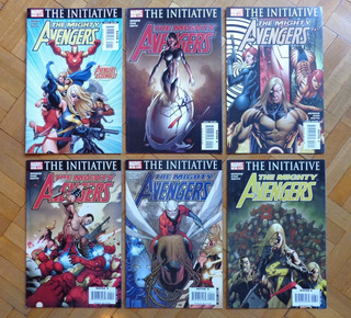Pacote The Mighty Avengers #01-06 (importado)