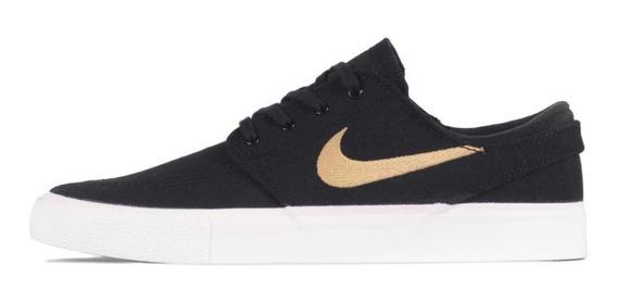 Tênis Nike Sb Zoom Janoski Cnvs Rm Feminino Preto Com Branco