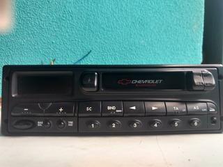 Rádio E Toca Fitas Original Gm Chevrolet Do Ômega 93284066