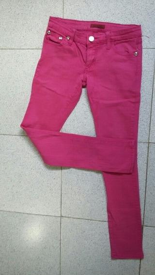 Pantalon Bacci De Mujer En Color Rosa Fuccia. Tubito.