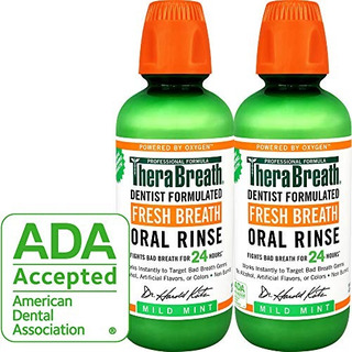 Therabreath Aliento Fresco Enjuague Oral, Menta Leve, 16 Bo