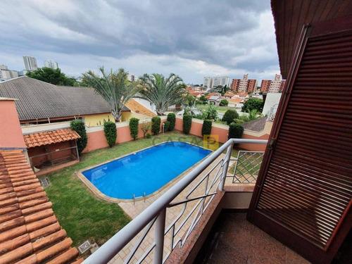 Casa Com 3 Dormitórios À Venda, 300 M² Por R$ 1.800.000,00 - Parque Residencial Nardini - Americana/sp - Ca0963