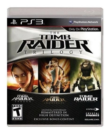 Tomb Raider Trilogy Ps3 Playstation 3 Nuevo Y Sellado Juego
