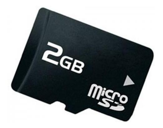 Kit 2 Cartões De Memória Micro Sd De 2g
