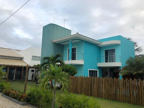 Casa Com 4 Quartos, 180m2, À Venda - Guarajuba - Camaçari - Cs-50