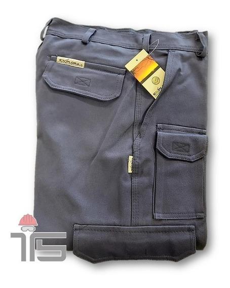 Pantalón De Trabajo Cargo Explora Varios Colores Y Talles