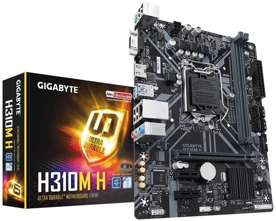 Placa Mae H310m H Socket Lga1151 2 Ddr4 - Gigabyte