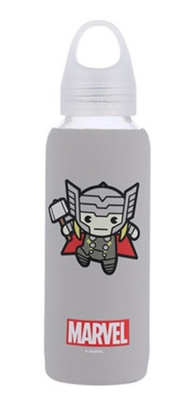 Garrafa De Vidro Miniso - Thor