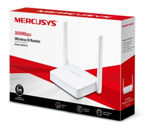 Router Wifi N 300mb Mw302r Mercusys 5dbi Alta Ganancia