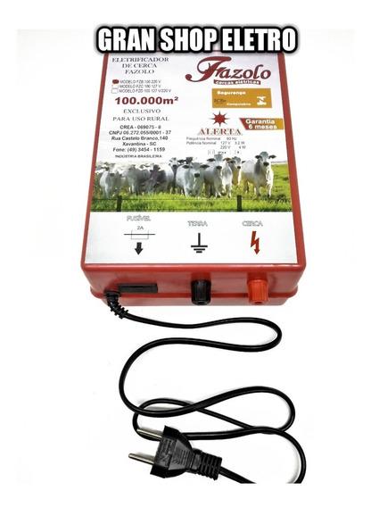 Eletrificador De Cerca Eletrica Modelo Fzb 100 220v + Forte