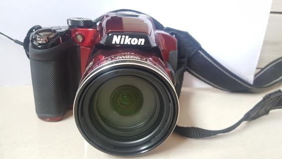 Câmera Semiprofissional Nikon P510