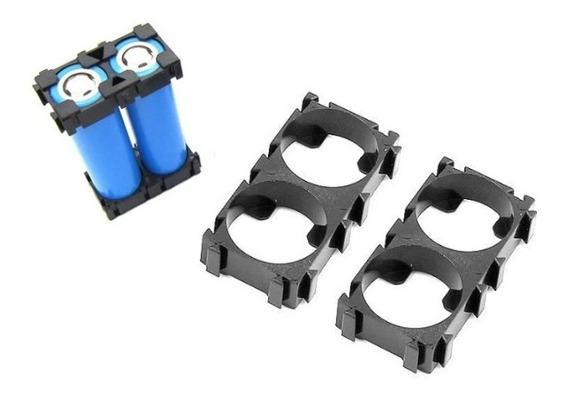 Suporte Para 2 Bateria 18650 Suporte Bateria Lítio (1 Par)
