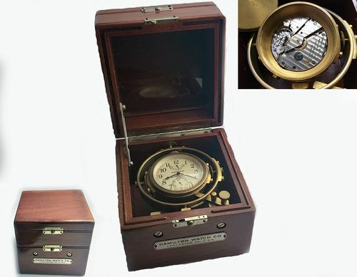 Hamilton Mariner Chronometer Mod 22 Fantástica Conservação