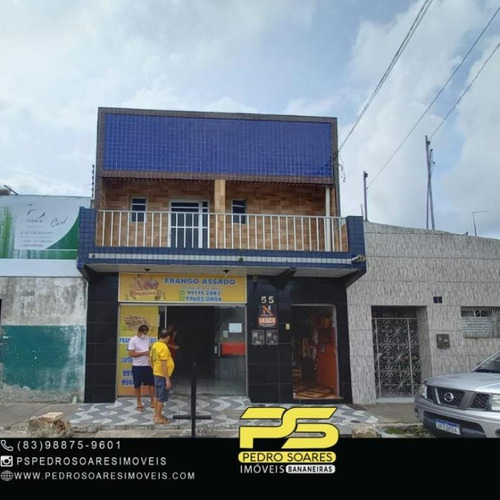 Prédio Comercial No Centro De Solânea - Pb Por R$ 800.000 Mil - Pr0071