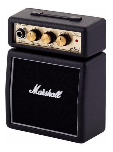 Amplificador De Guitarra Marshall Ms2 Microamp Blk